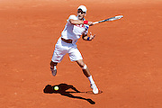 Roland Garros 2011. Paris, France. May 23rd 2011..Serbian player Novak DJOKOVIC against Thiemo DE BAKKER