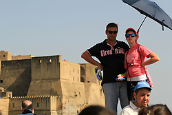 Napoli, Italy - Giro d'Italia - May 4, 2013 - Audience with Giro d'Italia shirts
