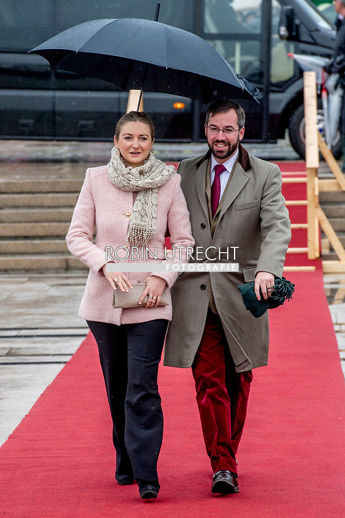 10-5-2017 OSLO NORWAY Lunch on the Royal Yacht, Norge. 