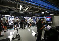 August 31, 2018 - Monza, Italy - Motorsports: FIA Formula One World Championship 2018, Grand Prix of Italy, .Garage of Mercedes AMG Petronas Motorsport  (Credit Image: © Hoch Zwei via ZUMA Wire)