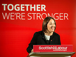 Scottish Labour leader Kezia Dugdale campaigns at the Eric Liddell Centre in Edinburgh in the run up to the council elections on Thursday.<br /> <br /> © Dave Johnston/ EEm