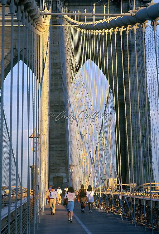 Brooklyn Bridge, New York, NY.
