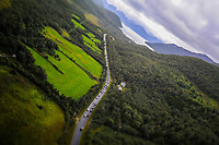 Illustration Peloton during the Artic Race Norway 2014, Stage 3, Alta (Nor)- KvÊnangsfjellet (Nor) (132km) on August 16, 2014. Photo Tim de Waele / DPPI