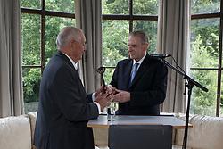 Graaf Jacques Rogge, Jacky Buchmann<br /> Viering 25 jaar voorzitterschap Jacky Buchmann<br /> © Hippo Foto - Dirk Caremans<br /> 08/07/15