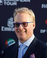 Keith Pelley new Chief Executive Officer of the European Tour at  The DP World Tournament on the 4th day