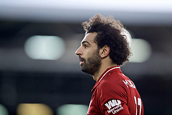 LONDON, ENGLAND - Sunday, March 17, 2019: Liverpool's Mohamed Salah during the FA Premier League match between Fulham FC and Liverpool FC at Craven Cottage. (Pic by David Rawcliffe/Propaganda)