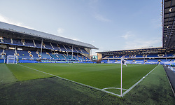 LIVERPOOL, ENGLAND - Tuesday, August 23, 2016: Everton's Goodison Park before Yeovil Town match in the Football League Cup 2nd Round match at Goodison Park. (Pic by Gavin Trafford/Propaganda)