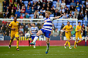Reading Captain Paul McShane (5) controls the ball during the Sky Bet Championship match between Reading and Preston North End at the Madejski Stadium, Reading, England on 30 April 2016. Photo by Jon Bromley.