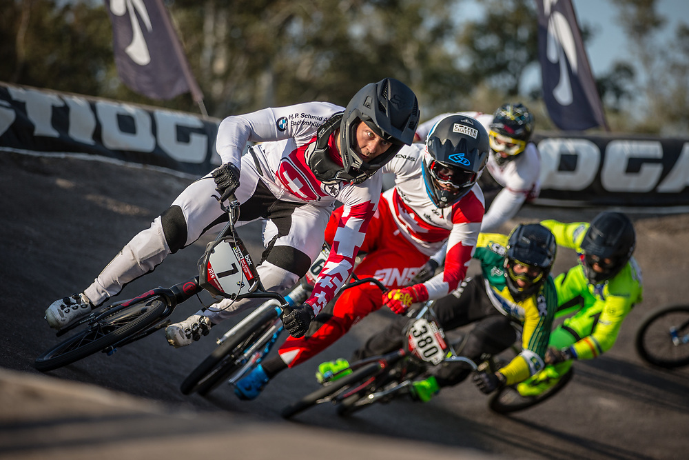 #7 (GRAF David) SUI at Round 10 of the 2019 UCI BMX Supercross World Cup in Santiago del Estero, Argentina