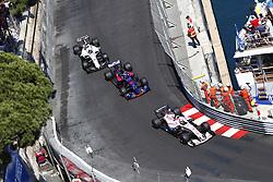 May 28, 2017 - Monte Carlo, Monaco - Motorsports: FIA Formula One World Championship 2017, Grand Prix of Monaco, .#11 Sergio Perez (MEX, Sahara Force India F1 Team), #26 Daniil Kvyat (RUS, Scuderia Toro Rosso), #19 Felipe Massa (BRA, Williams Martini Racing) (Credit Image: © Hoch Zwei via ZUMA Wire)