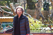 022318 Queen Sofia visits giant panda at the Zoo Aquarium