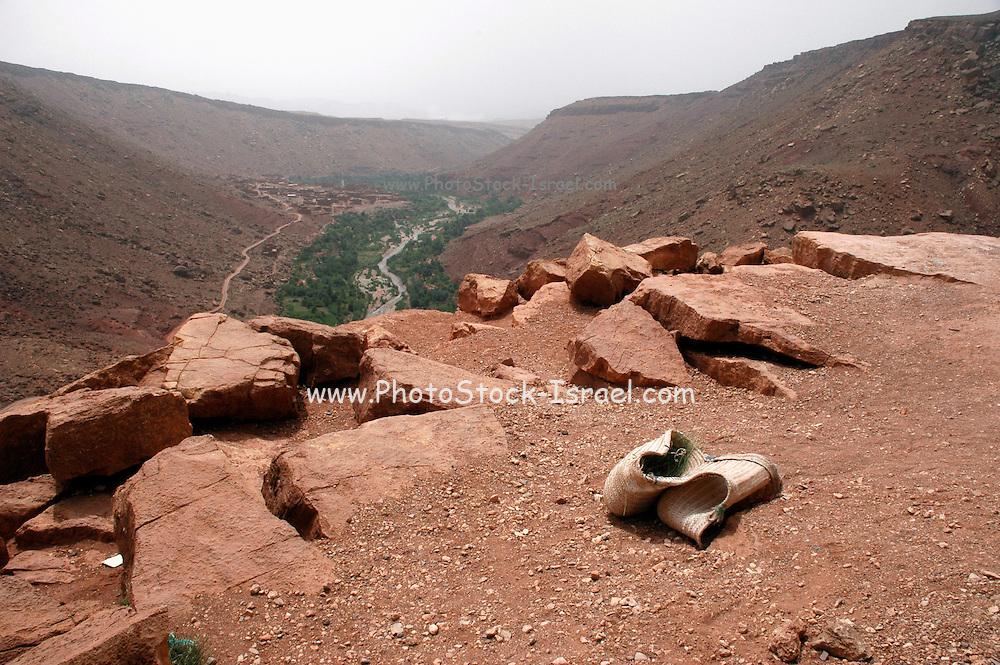 Morocco, High Atlas Mountains, Ounila Valley
