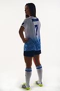 UCLA Athletics - 2016 UCLA Women's Soccer Media Day Portraits, UCLA, Los Angeles, CA.<br /> August 31st, 2016<br /> Copyright Don Liebig/ASUCLA<br /> Miranda_Gabbi_020.psd