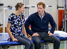 Auckland - Prince Harry visits Auckland Spinal Rehabilitation Unit