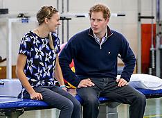 Auckland - Prince Harry visits Auckland Spinal Rehabilitation Unit
