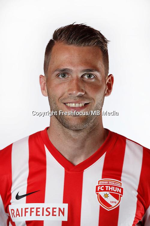 22.06.2015; Thun; Fussball Super League - Portrait FC Thun: Roman Buess (Thun). (Christian Pfander/freshfocus)