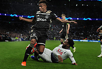 Football - 2018 / 2019 UEFA Champions League - Semi-Final, First Leg: Tottenham Hotspur vs. Ajax<br /> <br /> David Neres of Ajax and Danny Rose of Spurs, at The Tottenham Hotspur Stadium.<br /> <br /> COLORSPORT/ANDREW COWIE