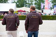 Nico Witte en Joop van Uytert<br /> Excellent Dressage Sales<br /> Longines FEI/WBFSH World Breeding Dressage Championships for Young Horses 2016<br /> © DigiShots