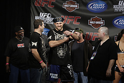 October 23, 2009; Los Angeles, CA; USA;  Ben Rothwell at the weigh-in for his bout against Cain Velasquez. The two will meet tomorrow night in the headliner of UFC 104 at the Staples Center in Los Angeles, CA.