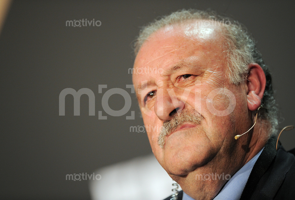 Fussball International  FIFA Ballon d Or /  FIFA Herren-Fussballtrainer des Jahres 2010  10.01.2011 Vicente del Bosque (ESP)