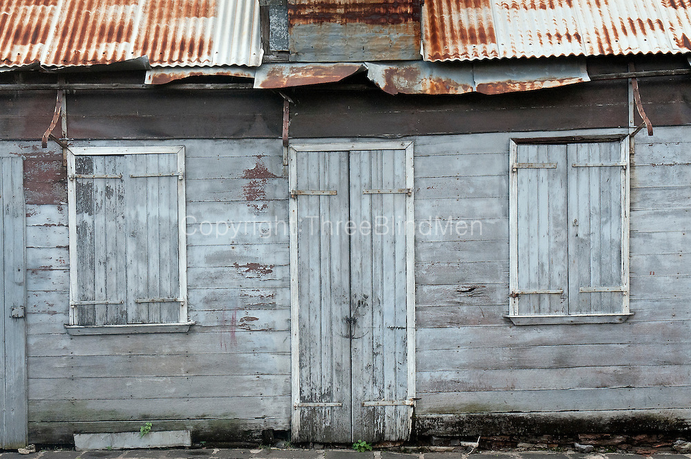 Old house in Port Louis.