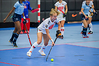ROTTERDAM -  Lana Kalse (Adam) dames Amsterdam-Laren  ,hoofdklasse competitie  zaalhockey.   COPYRIGHT  KOEN SUYK