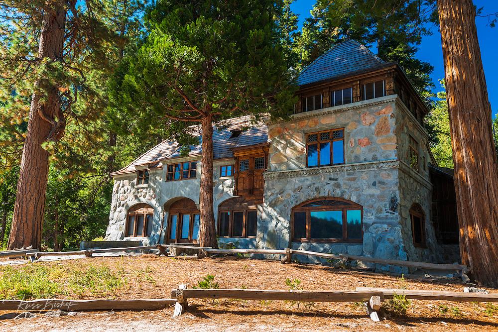 Vikingsholm castle, Emerald Bay State Park, Lake Tahoe, California USA