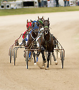 Harness Racing Macon County Fair 2012