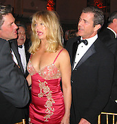 **EXCLUSIVE**.Kurt Russell, Goldie Hawn & Mel Gibson..American Museum of The Moving Image Salutes Mel Gibson..Waldorf Astoria Hotel..New York, NY, USA..March 07, 2002..Photo By Celebrityvibe.com.To license this image please call (212) 410 5354; or Email: celebrityvibe@gmail.com ;.website: www.celebrityvibe.com.