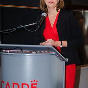 NLD/Amsterdam/20121129- Presentatie Jubileumboek 125 jaar historie Carre, Madeleine van der Zwaan