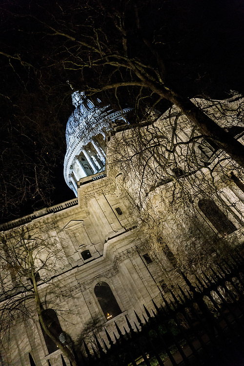 Sir Christopher Wrens masterpiece, St Pauls Cathedral in London England