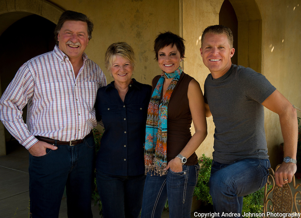 Gary, Nancy, Chris & Amy Figgins, Figgins Family Wine Estates, Walla Walla, Washington