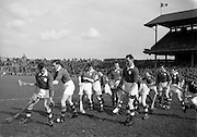 Interprovincial Railway Cup Hurling Semi-final,.Leinster v Munster, .17.03.1955, 03.17.1955, 17th March 1955,