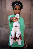 PETA - angora wool protest