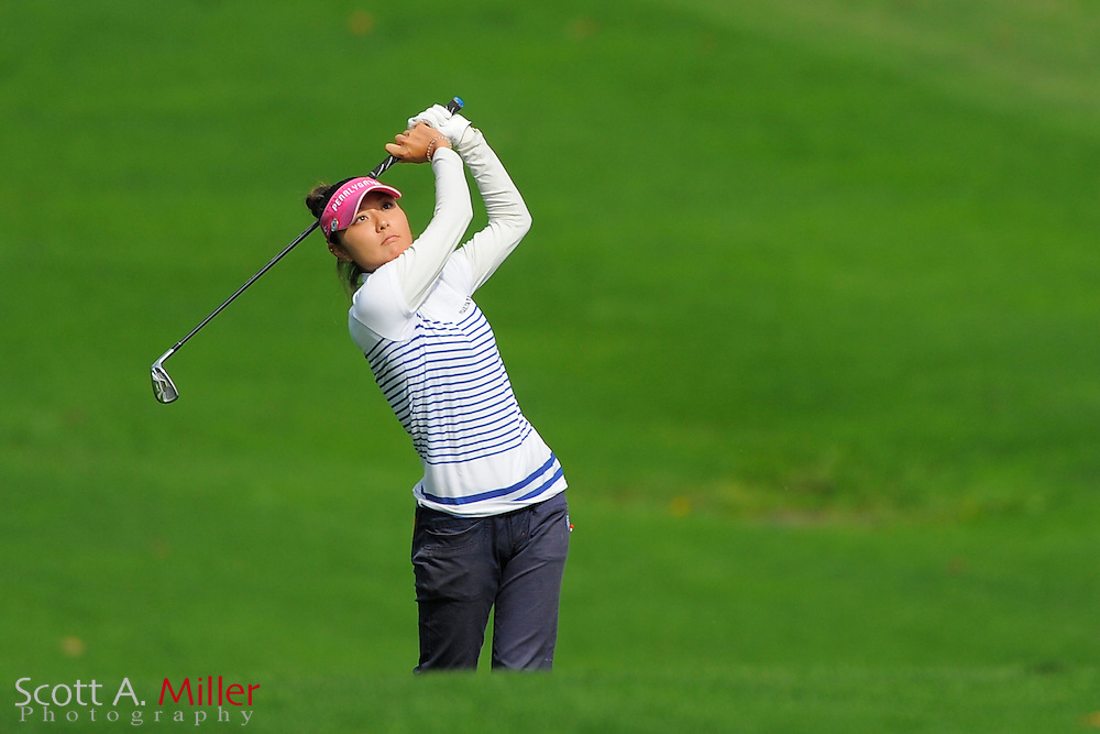 Ayaka Kaneko during the second round of the LPGA Future Tour's Price Cooper Tour Championship at Capital Hills at Albany on Sept. 10, 2011 in Albany, N.Y...©2011 Scott A. Miller