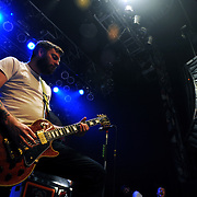 Four Year Strong performing on the Taste of Chaos tour at The House of Blues in San Diego, California USA on February 18, 2009