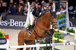 Leprevost Penelope, FRA, Vagabond de la Pomme<br /> Longines Grand Prix<br /> CSI Zurich 2017<br /> © Hippo Foto - Stefan Lafrentz<br /> 27/01/17