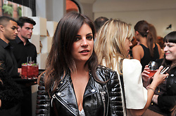 JULIA RESTOIN ROITFELD at the opening party for Nicholas Kirkwood's new store at 5 Mount Street, London on 12th May 2011.