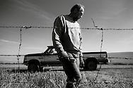 Farming in D'Arcy, Saskatchewan.