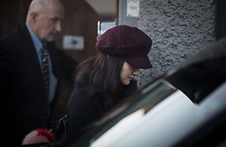 Huawei chief financial officer Meng Wanzhou, who is out on bail and remains under partial house arrest after she was detained Dec. 1 at the behest of American authorities, leaves her home to attend a court appearance regarding her bail conditions, in Vancouver, on Tuesday January 29, 2019. Photo by Darryl Dyck/CP/ABACAPRESS.COM