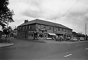 09/06/1967<br /> 06/09/1967<br /> 09 June 1967<br /> Views near St Theresa's Malahide Road, Dublin. D. Brown's shop, C. Moriarty's Beeting office and The Goblet pub.