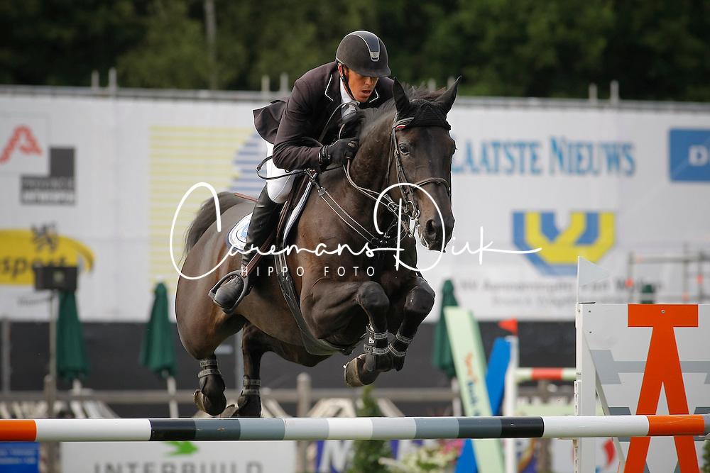 Hemeryck Rik (BEL) - Quarco De Kerambars<br /> Belgisch Kampioenschap Kapellen 2009<br /> Photo &copy; Dirk Caremans