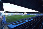 Hillsborough Stadium before  the Sky Bet Championship match between Sheffield Wednesday and Wolverhampton Wanderers at Hillsborough, Sheffield, England on 20 December 2015. Photo by Ian Lyall.