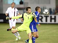 Fotball<br /> VM-kvalifisering<br /> 16.10.2012<br /> Kypros v Norge<br /> Foto: Savvides/Digitalsport<br /> NORWAY ONLY<br /> <br /> Rune Almenning Jarstein - Norge