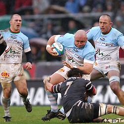 Eduard COETZEE / MALLIER - 11.02.2006 - Bayonne / Brive - 16e journee TOP 14<br /> Photo : Marc Oliva / Icon Sport