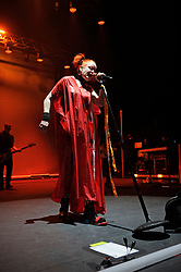 LONDON, ENGLAND - SEPTEMBER 14: Shirley Manson of 'Garbage' performing at Brixton Academy on September 14, 2018 in London, England. CAP/MAR ©MAR/Capital Pictures. 14 Sep 2018 Pictured: Shirley Manson. Photo credit: MAR/Capital Pictures / MEGA TheMegaAgency.com +1 888 505 6342