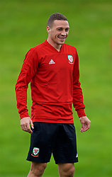 CARDIFF, WALES - Tuesday, September 4, 2018: Wales' James Chester during a training session at the Vale Resort ahead of the UEFA Nations League Group Stage League B Group 4 match between Wales and Republic of Ireland. (Pic by David Rawcliffe/Propaganda)