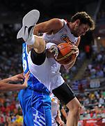 DESCRIZIONE : Istanbul Turchia Turkey Men World Championship 2010 Campionati Mondiali Eight Finals Ottavi Finale Spain Spagna Greece Grecia<br /> GIOCATORE : Rudy FERNANDEZ <br /> SQUADRA : Spain Spagna<br /> EVENTO : Istanbul Turchia Turkey Men World Championship 2010 Campionato Mondiale 2010<br /> GARA : Spain Spagna Greece Grecia<br /> DATA : 04/09/2010<br /> CATEGORIA : Rimbalzo<br /> SPORT : Pallacanestro <br /> AUTORE : Agenzia Ciamillo-Castoria/T.Wiedensohler<br /> Galleria : Turkey World Championship 2010<br /> Fotonotizia : Istanbul Turchia Turkey Men World Championship 2010 Campionati Mondiali Eight Finals Ottavi Finale Spain Spagna Greece Grecia<br /> Predefinita :