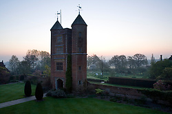 The Tower at Sissinghurst Castle Garden at dawn