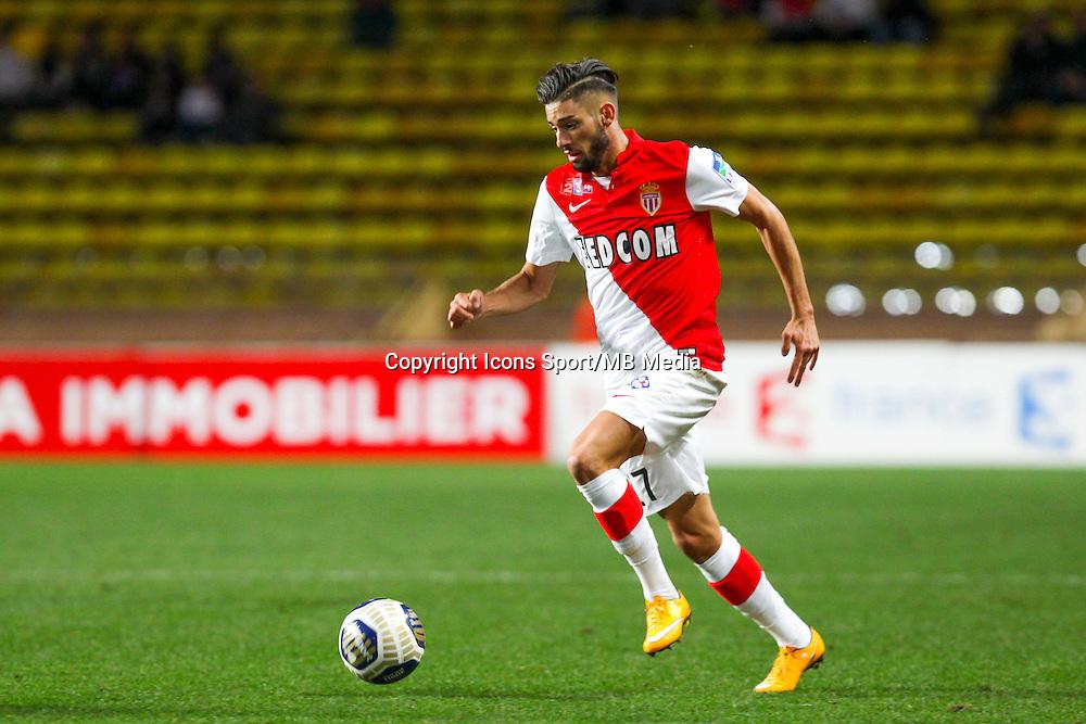 Yannick FERREIRA CARRASCO  - 14.01.2015 - Monaco / Guingamp - 1/4Finale Coupe de la Ligue<br /> Photo : Jean Christophe Magnenet / Icon Sport